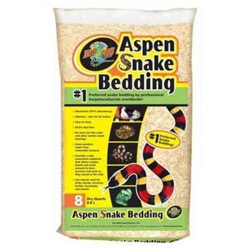 Zoo Med Aspen Snake Bedding [8 quarts]