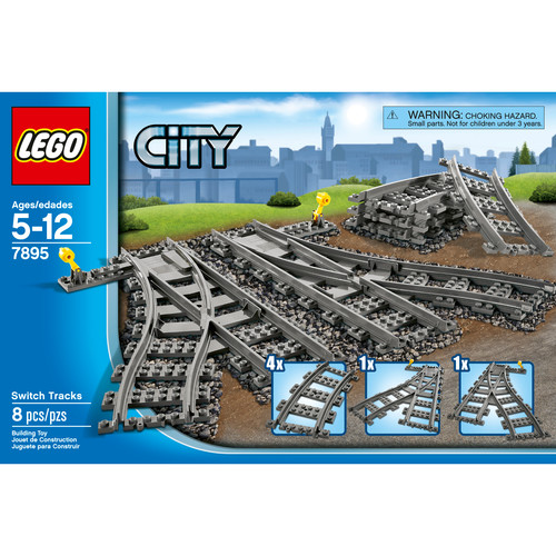 LEGO City Switch Tracks #7895