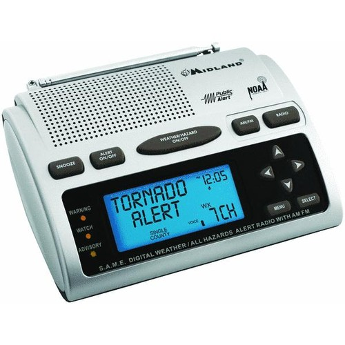 Midland Deluxe Weather Alert Radio - WR-300