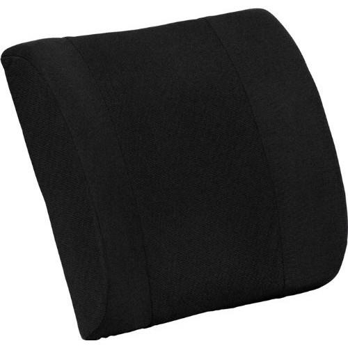 Flash Furniture Lumbar Cushion with Strap [Black]