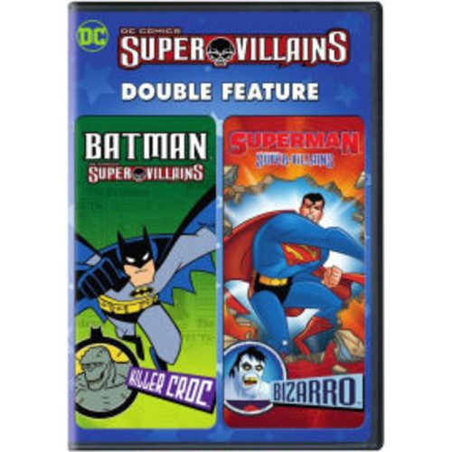 Dc Super Villains: Batman Killer Croc / Superman