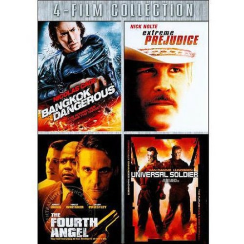 Four-Film Collection: (Bangkok Dangerous / Extreme Prejudice / The Fourth Angel / Universal Soldier)
