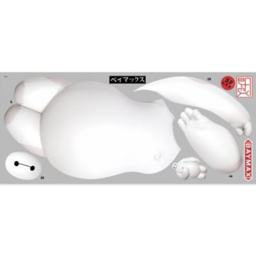 York Wallcoverings Big Hero 6 Baymax Peel and Stick Giant Wall Decals