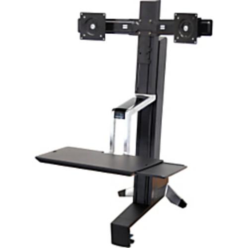 Ergotron WorkFit-S 33-341-200 Dual Sit-Stand Workstation