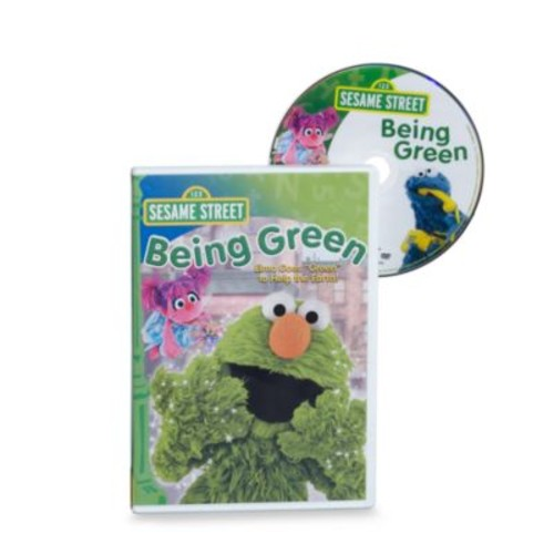 Sesame Street Being Green DVD