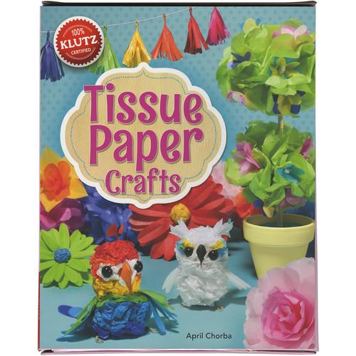Klutz Press Tissue Paper Crafts Book Kit-