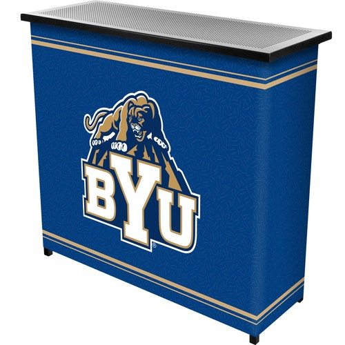 Trademark Global BYU 2 Shelf Portable Bar With Case