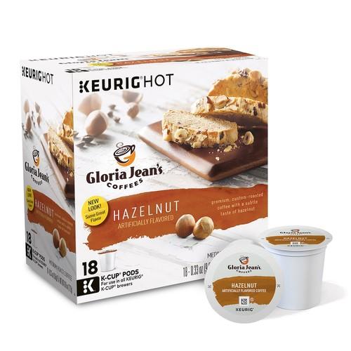 Keurig - Gloria Jean's Hazelnut K-Cup Pods (108-Pack)