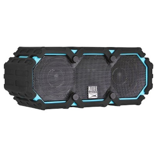 Altec Life Jacket 3 Bluetooth Waterproof Speaker - Black/Aqua