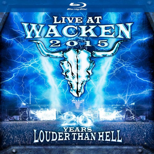 Live at Wacken 2015: 26 Years Louder Than Hell (Blu-ray Disc)