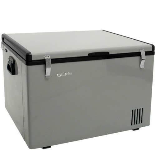 EdgeStar FP630 Portable Refrigerator or Freezer - 63 Qt. AC/DC [Silver]