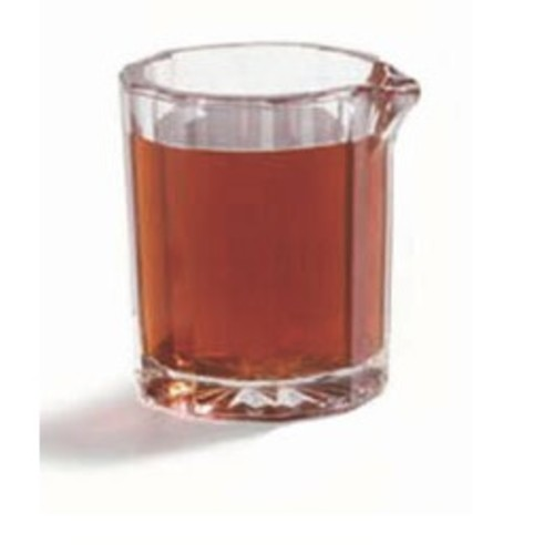 Creamer/Syrup Pitcher, 2 oz., SAN, clear