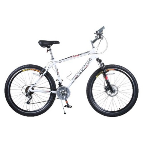 Titan Men's White Knight Mountain Bike
