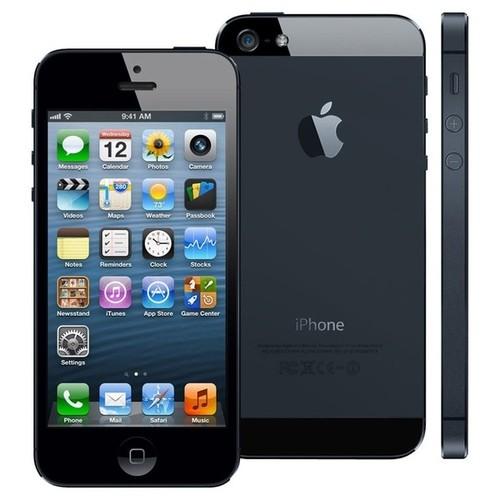 Apple iPhone 5 16GB Unlocked GSM 4G LTE Dual-Core Phone w/ 8MP Camera - Black (Refurbished/B-Grade)