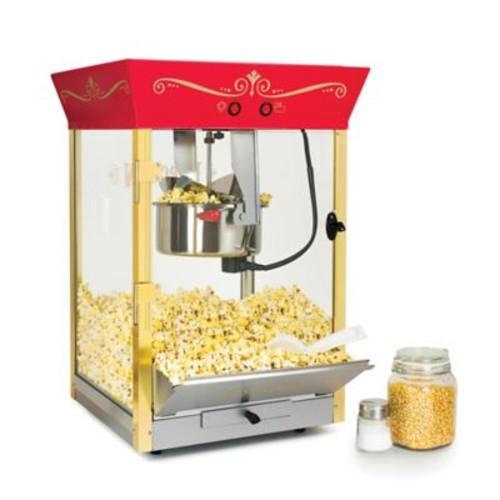 Nostalgia Electrics Nostalgia Commercial 8 oz. Kettle Popcorn Popper in Red