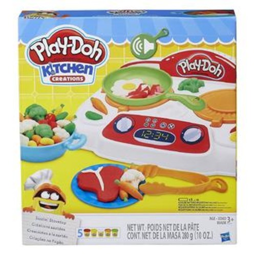 Hasbro Play-Doh Kitchen Creations Sizzlin' Stovetop Kids Pretend Play Hasbro PN00005749