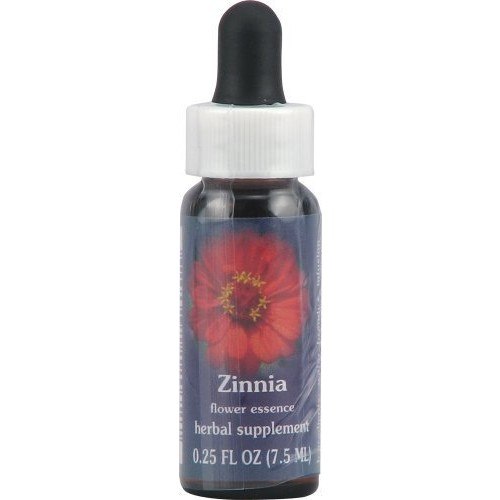 Flower Essence Services Zinnia Herbal Supplement, 0.25 Fluid Ounce