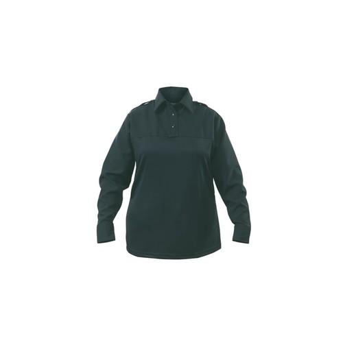 Elbeco Womens Spruce Green, Uv1 Undervest Long Sleeve Shirt