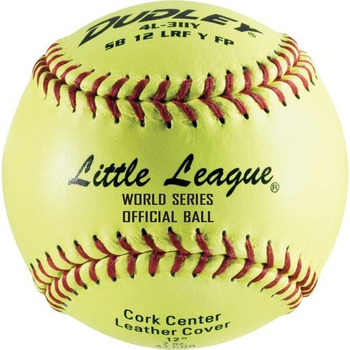 Dudley Little League World Series 12'' Softballs - 12 Pack