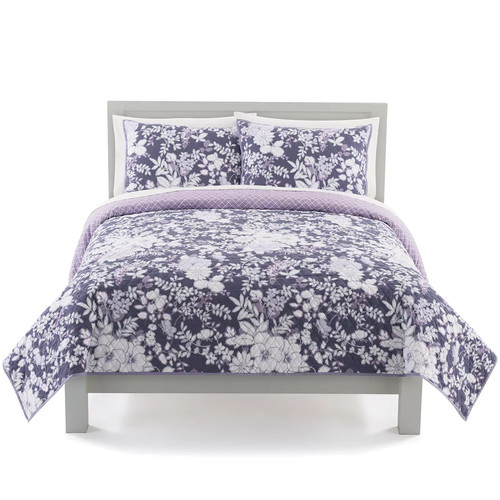The Big One Elyse Floral Print Quilt Set