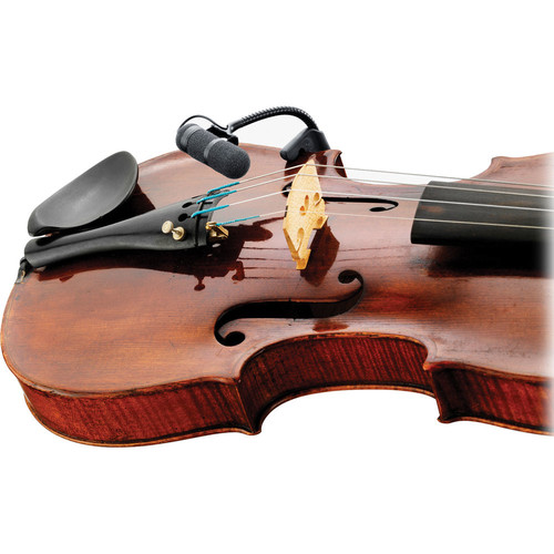 d:vote 4099V Clip Microphone for Violin with XLR Adapter