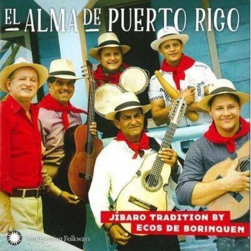 Ecos De Borinquen - El Alma De Puerto Rico:Ja Baro Tradit (CD)