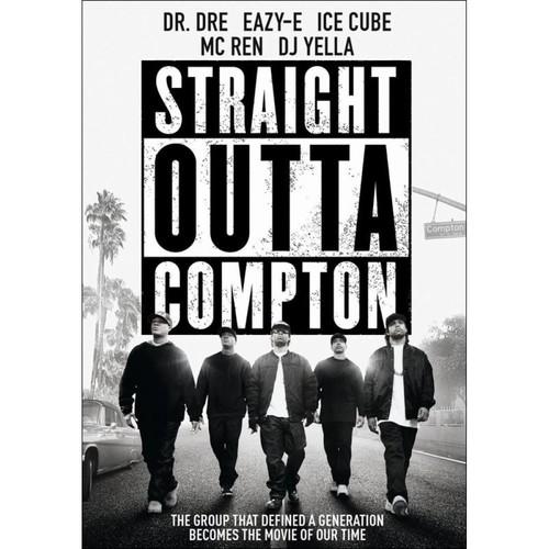 Straight Outta Compton [DVD] [2015]