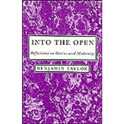 Into the Open: Reflections on Genius and Modernity