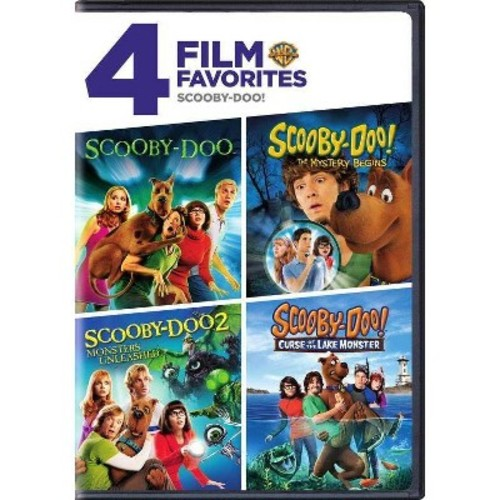 4 Film Favorites: Scooby-Doo (DVD)