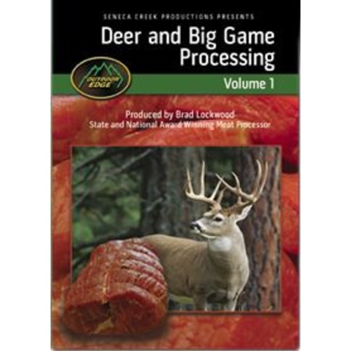 Outdoor Edge Deer and Big Game Processing Volume 1 DVD