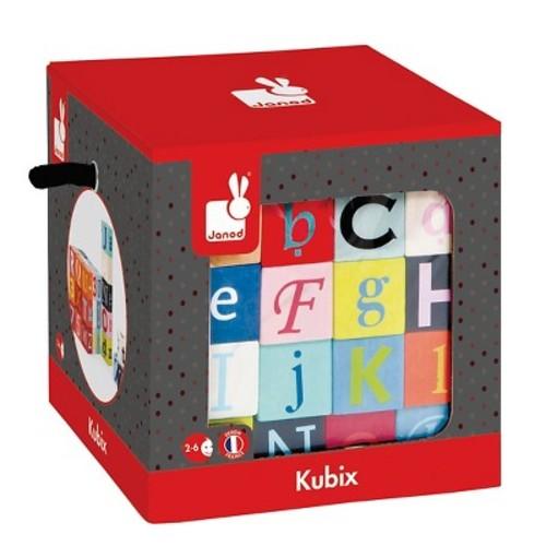 Kubix Letter & Numbers Blocks - set of 40