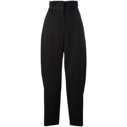 STELLA MCCARTNEY High Waist Cropped Trousers