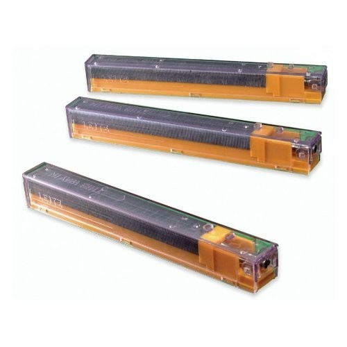 Esselte Pendaflex Corporation Products - Staple Cartridges, 210 Staples P/Crtrdg, 40 Sheet Cap., 5/PK, YW - Sold as 1 PK - Heavy-duty stapler cartridge is designed for use with the Leitz Heavy-duty Cartridge Stapler. Each cartridge includes 210 staples.