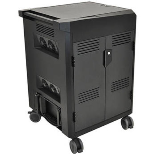 PowerShuttle Laptop Charging Cart for Up to 20 Devices