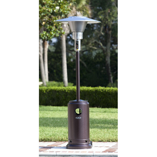 Hammered Prime Round 45,000 BTU Propane Patio Heater