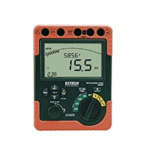 Extech 380395 Digital High Voltage Insulation Tester [Standard]