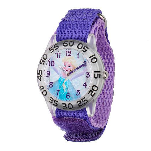 Disney Frozen Elsa Strap Watch - Purple