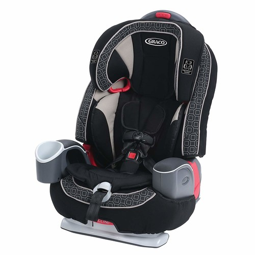 Graco Nautilus 65 LX 3-in-1 Harness Booster Car Seat, Pierce [Pierce, 1]
