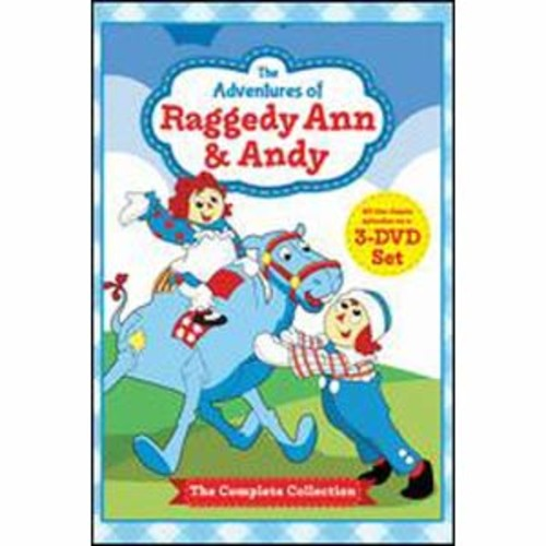 The Adventures of Raggedy Ann & Andy [3 Discs]