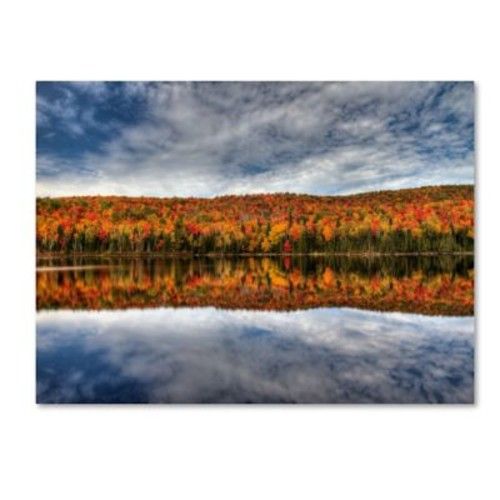 Trademark Fine Art 'Autumn Reflection' 22
