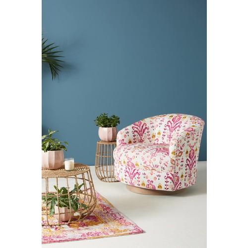 Purcella-Printed Amoret Swivel Chair [REGULAR]