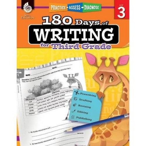 180 Days of Writing for Third Grade, Level 3 Practice - Assess - Diagnose