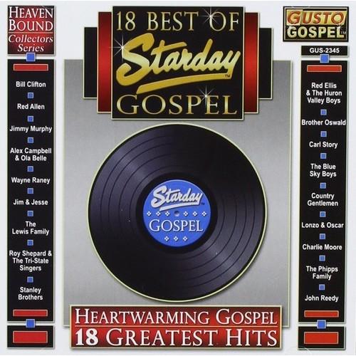 18 Best of Starday Bluegrass [CD]