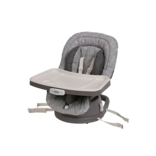 Graco Swivi Seat 3 in 1 Booster High Chair with Smart Swivel Rotating Seat - Whisk
