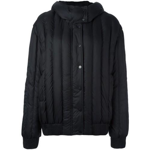 CARVEN Detachable Hood Zipped Jacket