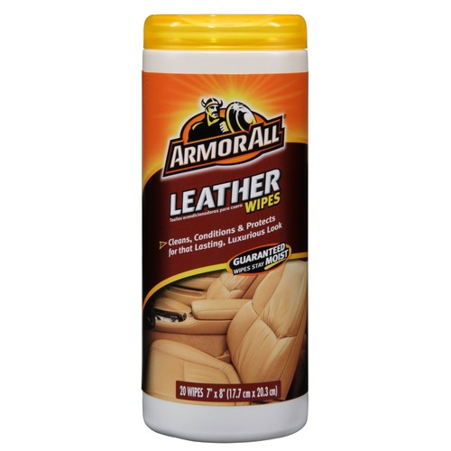 Armor All Leather Wipes 20 wipes
