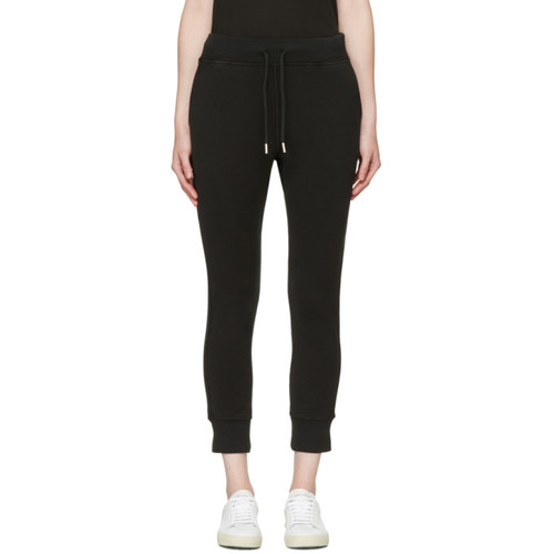 DSQUARED2 Black Small Logo Lounge Pants