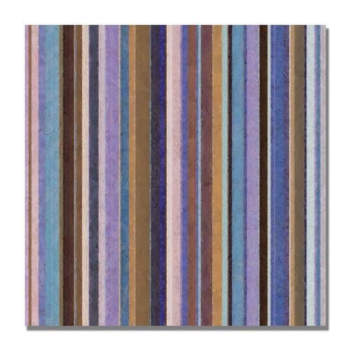 Trademark Fine Art Michelle Calkins 'Comfortable Stripes II' Canvas Art 35x35 Inches