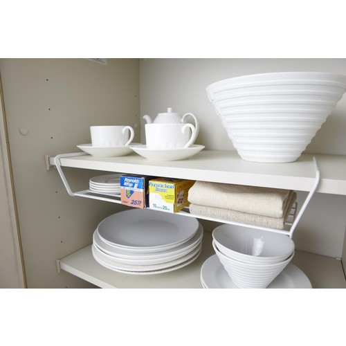 Tower Dish Storage Wide in Various Colors design by Yamazaki - White