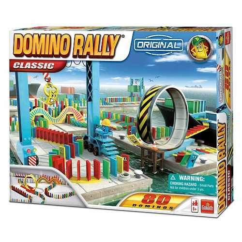 Goliath Games Domino Rally Classic Ages 6+